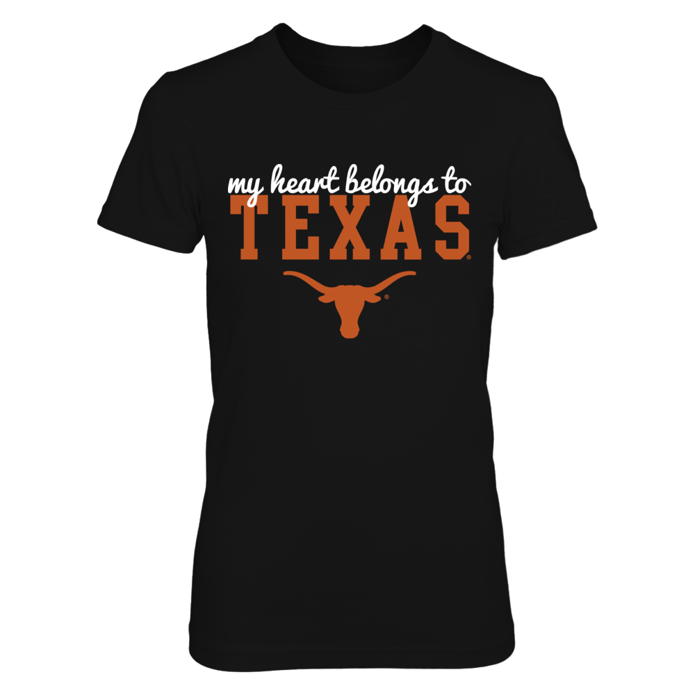 Texas Longhorns, My Heart Belongs to Texas Front picture