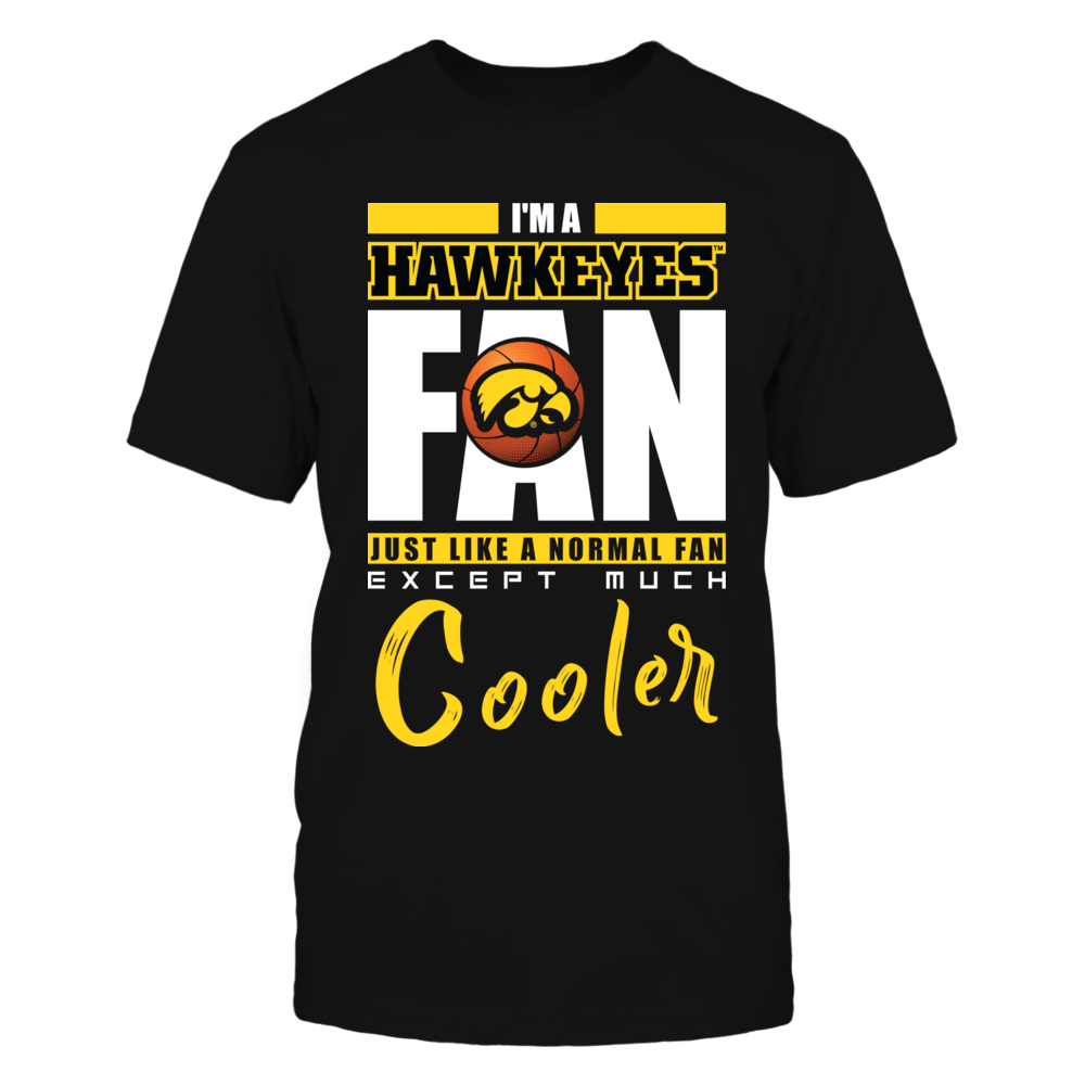 Iowa Hawkeyes - Basketball Cooler Fan Front picture