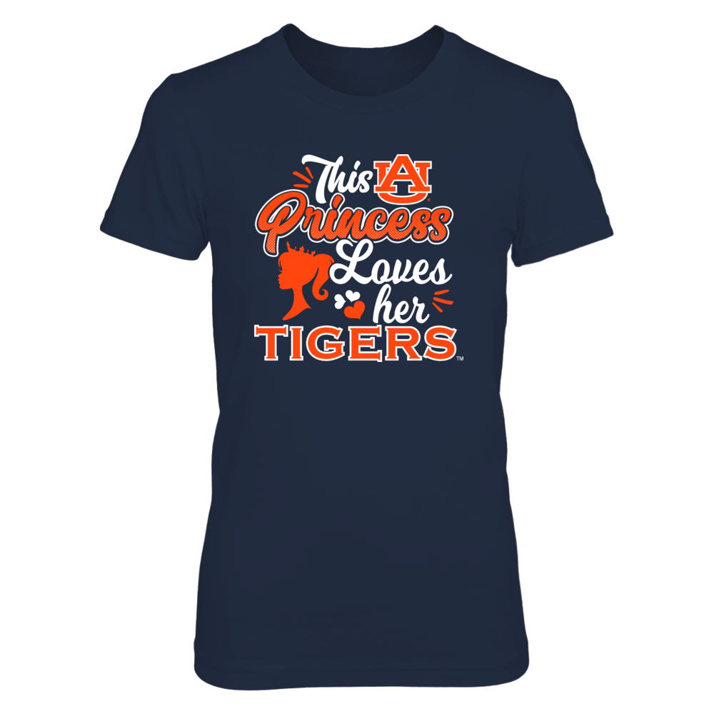 This Princess Loves Her Tigers - Auburn Front picture