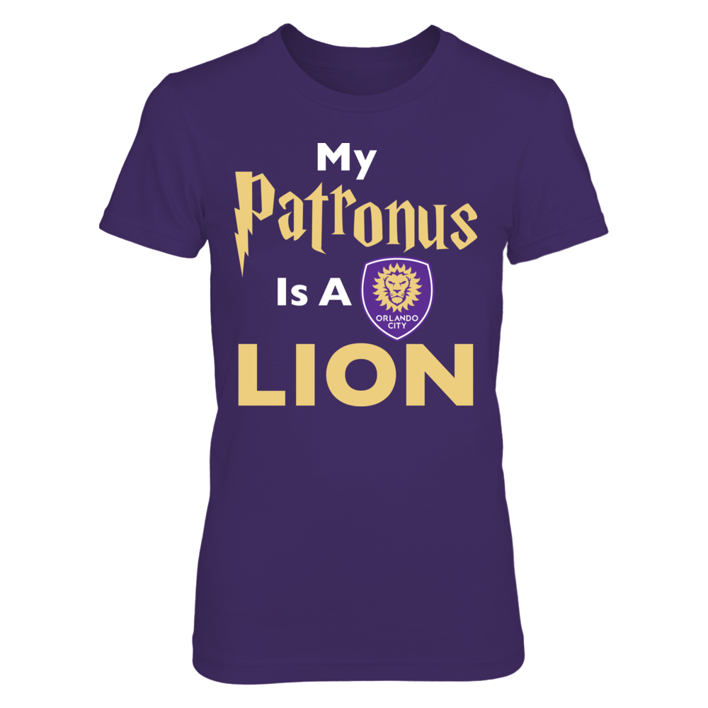Orlando City SC Orlando City MLS - My Patronus Is A Lion FanPrint