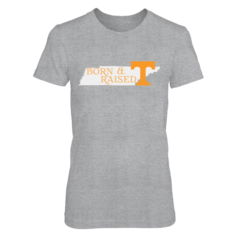 BORN & RAISED - TENNESSEE VOLUNTEERS Front picture