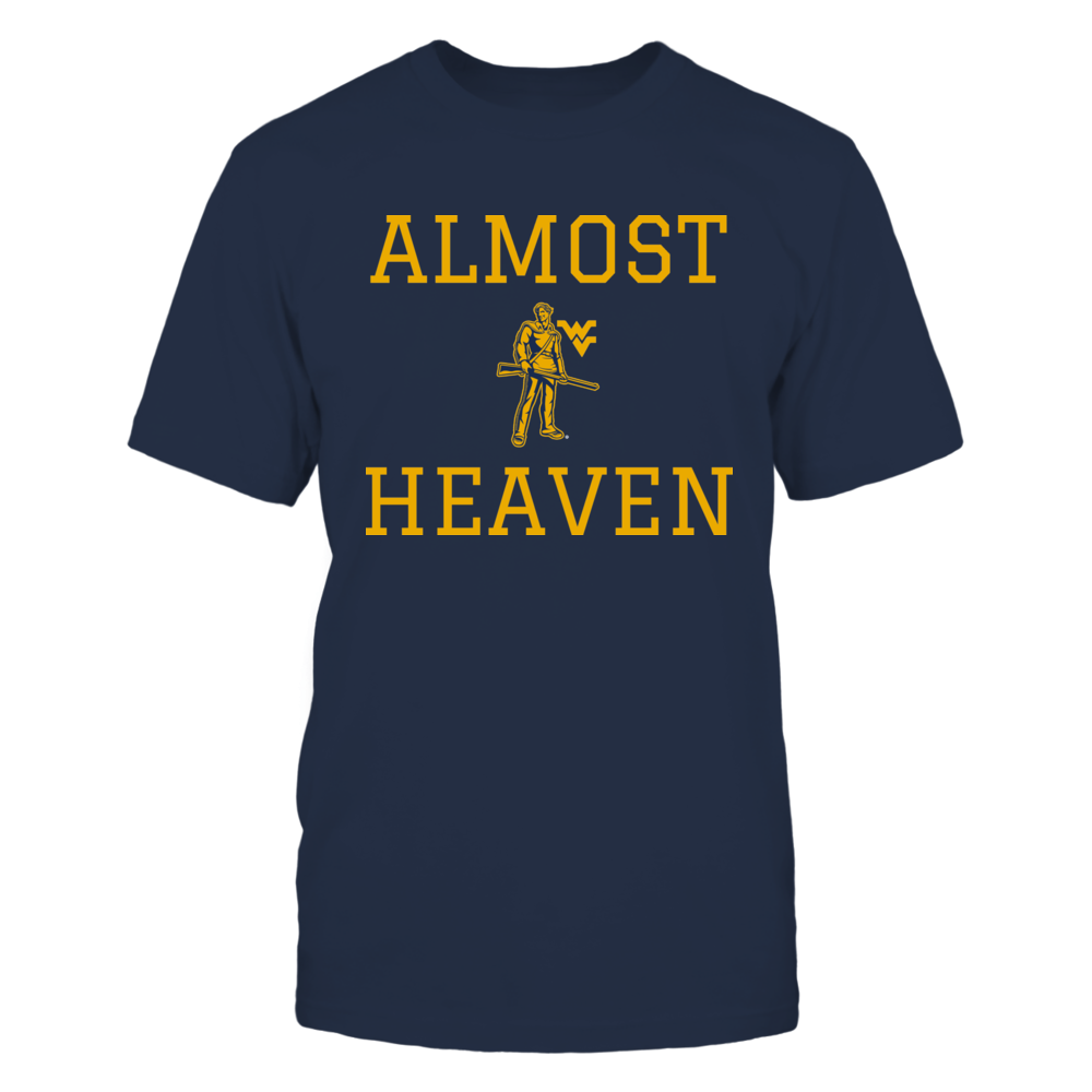 ALMOST HEAVEN - WEST VIRGINIA MOUNTAINEERS Front picture