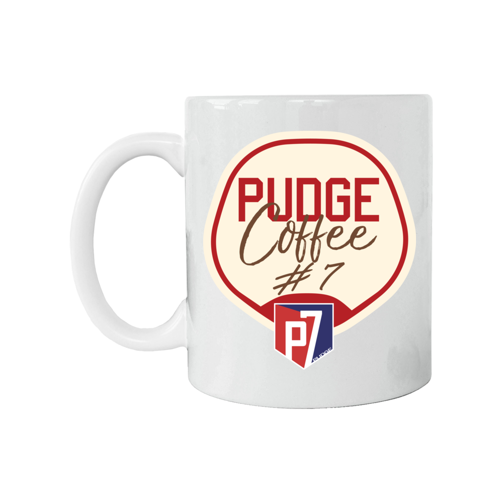 "Ivan ""Pudge"" Rodriguez Player Campaign Pudge Coffee FanPrint"