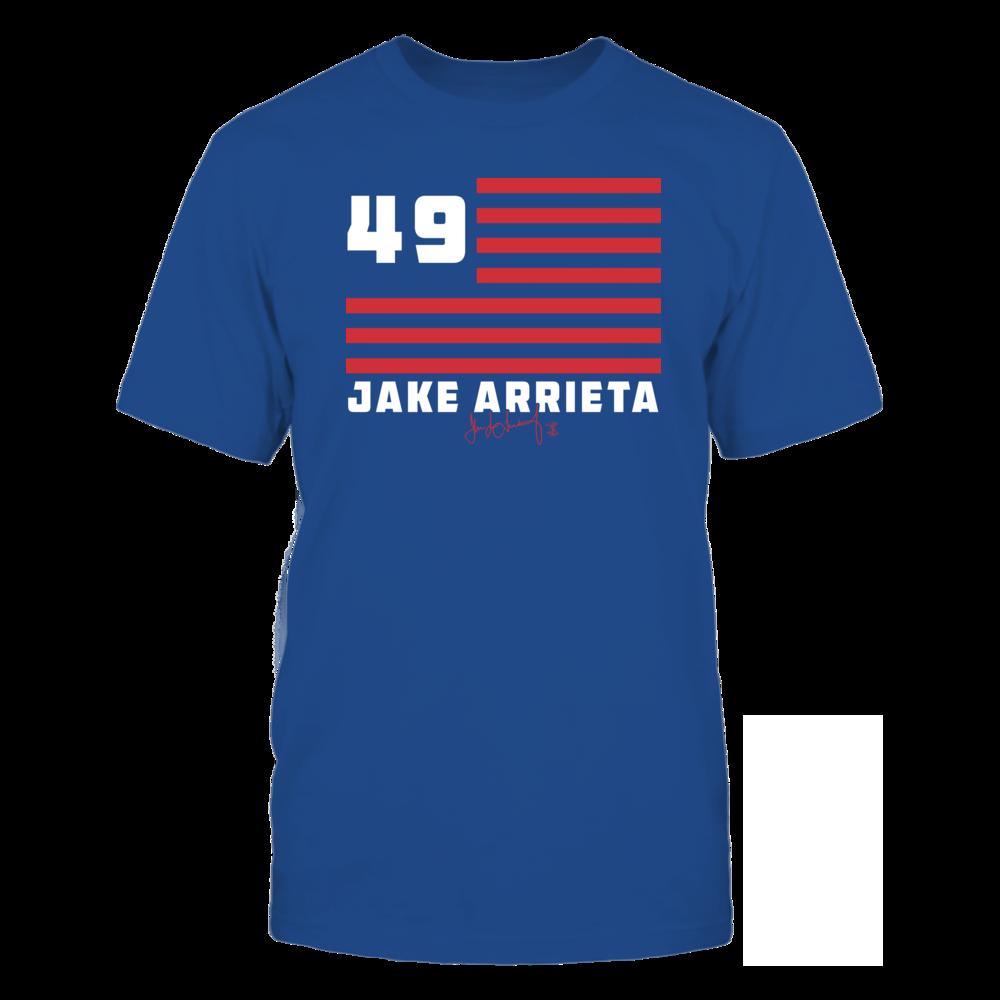 Jake Arrieta Jake Arrieta - Flag Stripes FanPrint