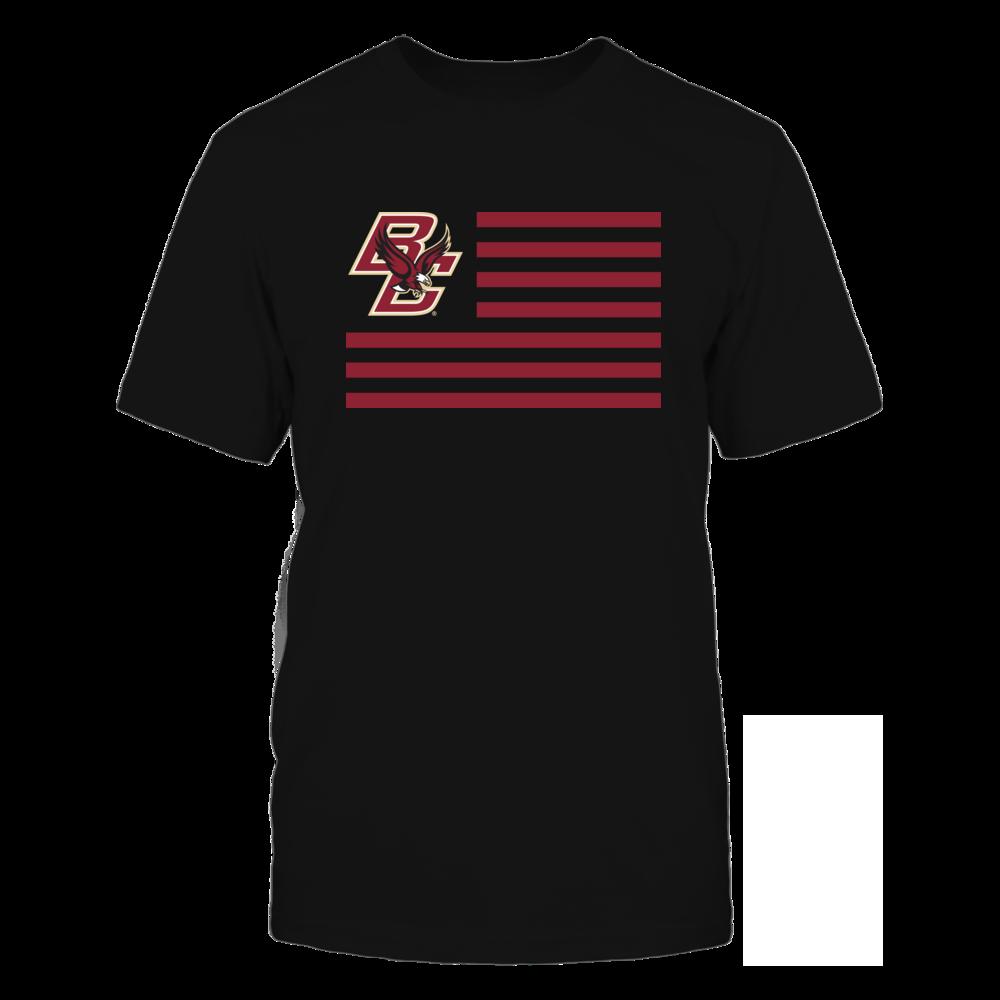Boston College Eagles - Flag Stripes Front picture