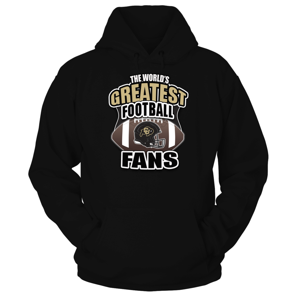 Colorado Buffaloes Football - Worlds Greatest Football Fans Front picture