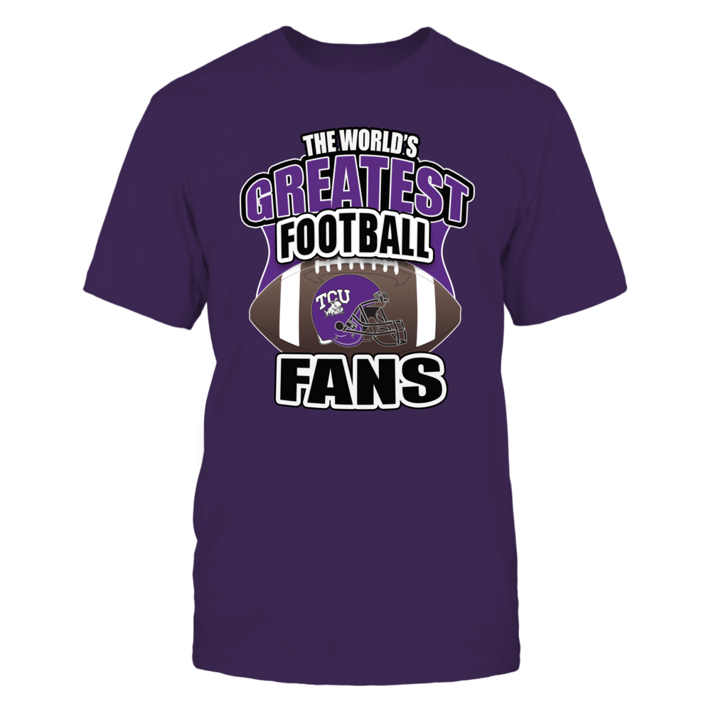 TCU Frogs Football - Worlds Greatest Football Fans Front picture