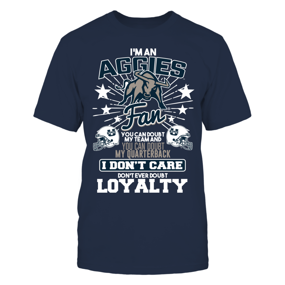 Utah State Aggies I am an Aggies Fan FanPrint