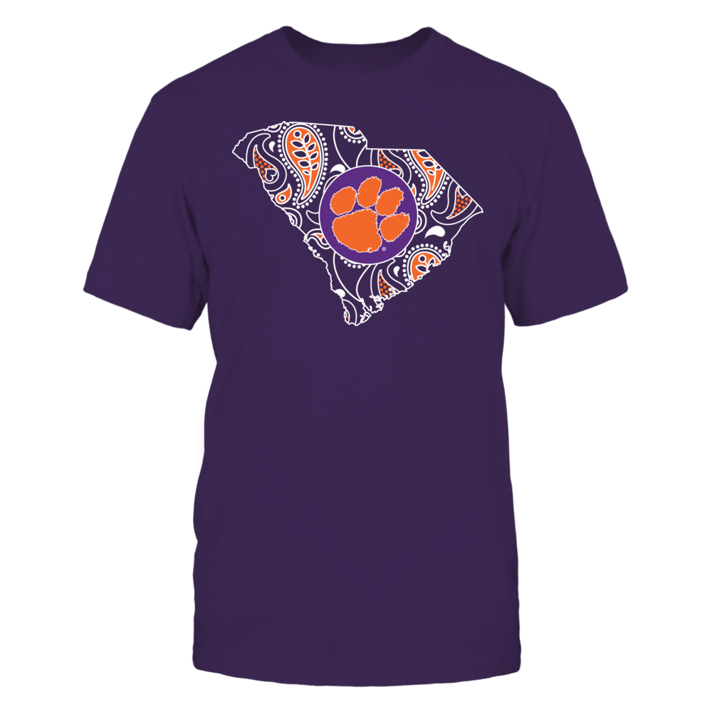 Clemson Tigers - Paisley State Front picture