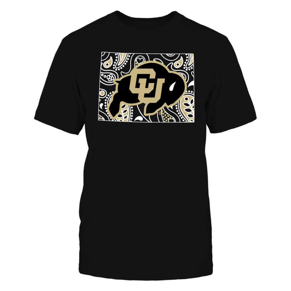 Colorado Buffaloes Colorado Buffaloes - Paisley State FanPrint