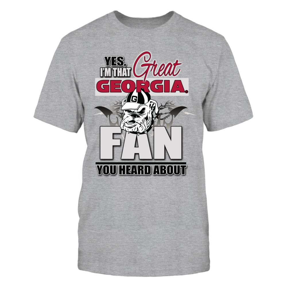 Georgia Bulldogs Great Georgia Bulldogs Fan FanPrint