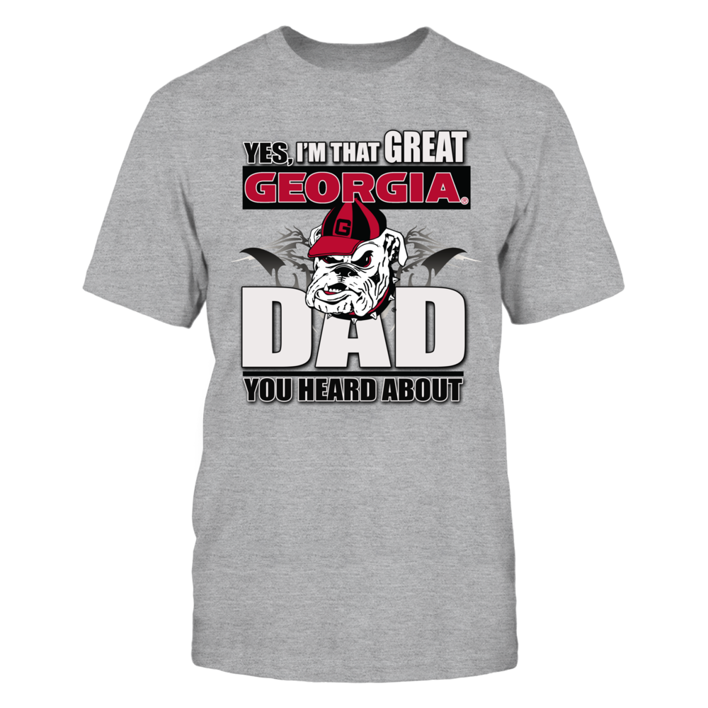 Georgia Bulldogs Georgia Bulldog Store - Great Georgia Bulldog Dad FanPrint