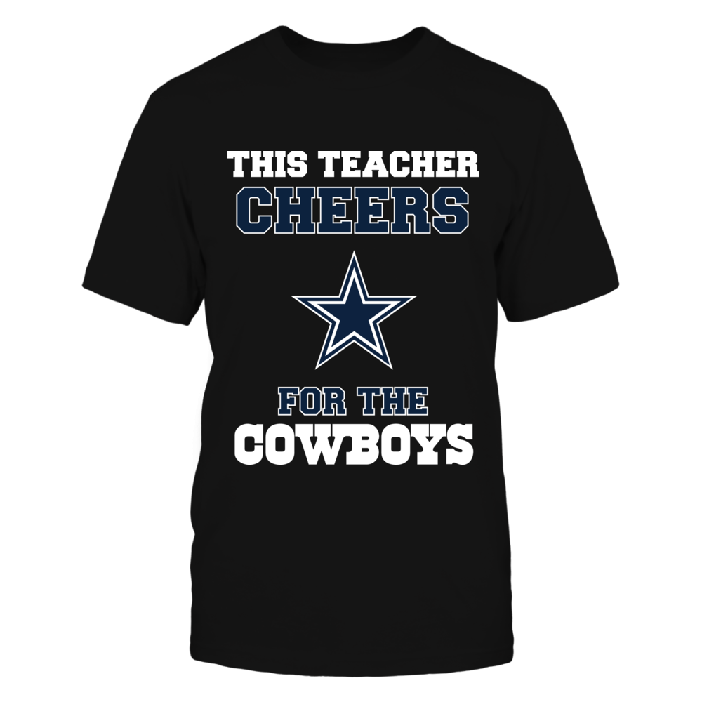 Dallas Cowboys This Teacher Cheers For The Cowboys FanPrint