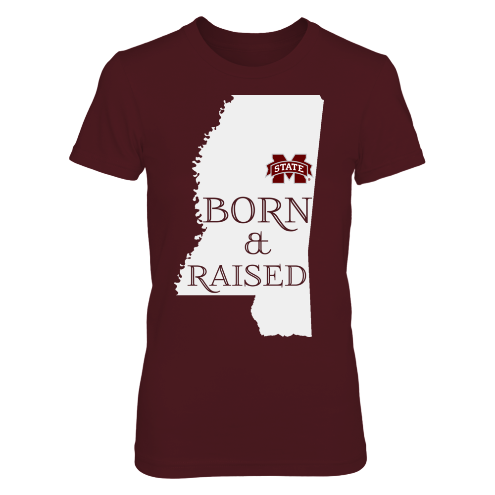 BORN & RAISED - MISSISSIPPI STATE BULLDOGS Front picture