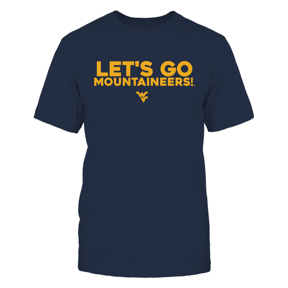 West Virginia Mountaineers LET'S GO... FanPrint