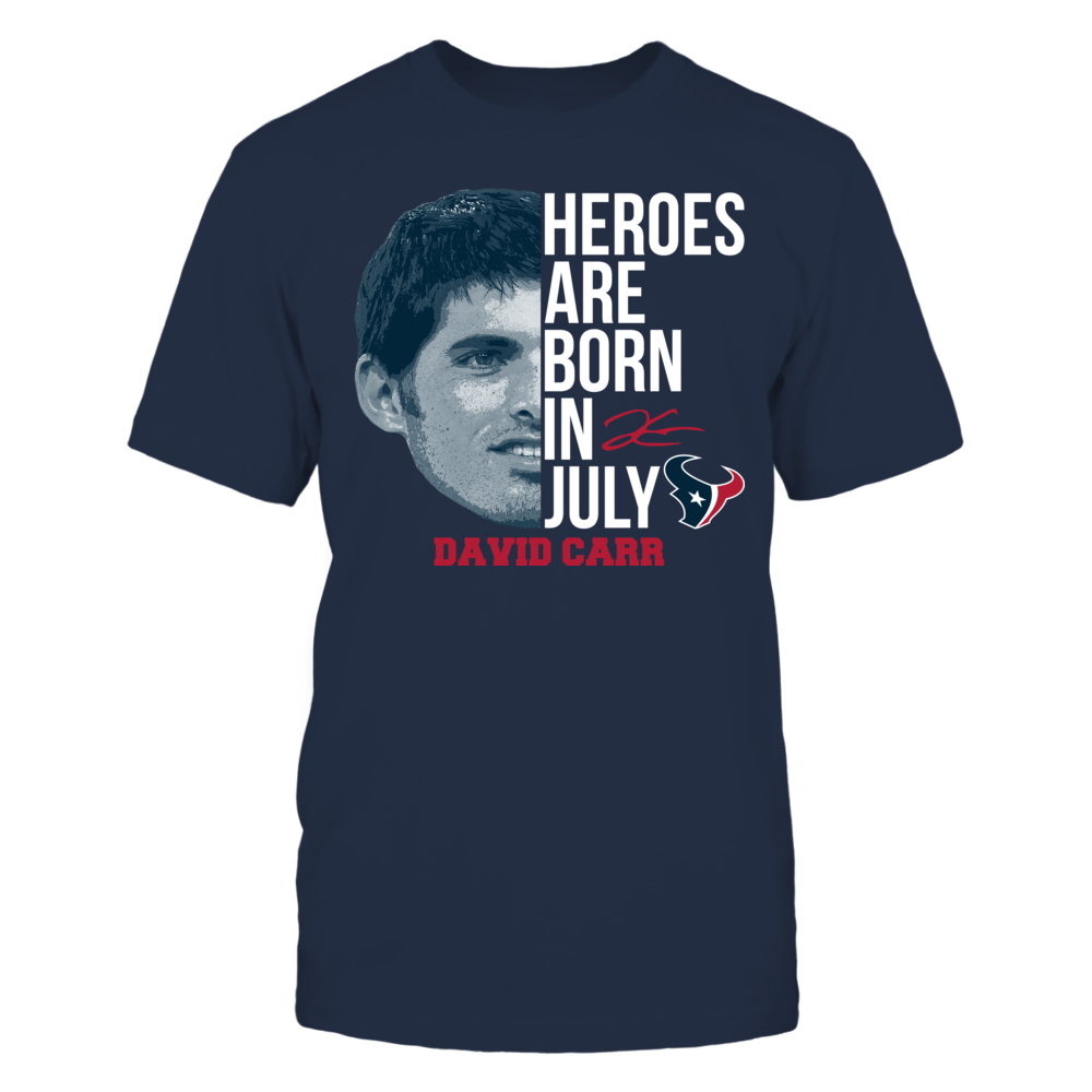 David Carr - Heroes Are Born In July Front picture