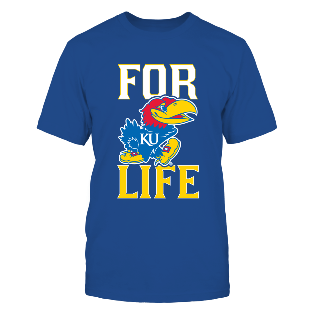 Kansas Jayhawks For Life Front picture