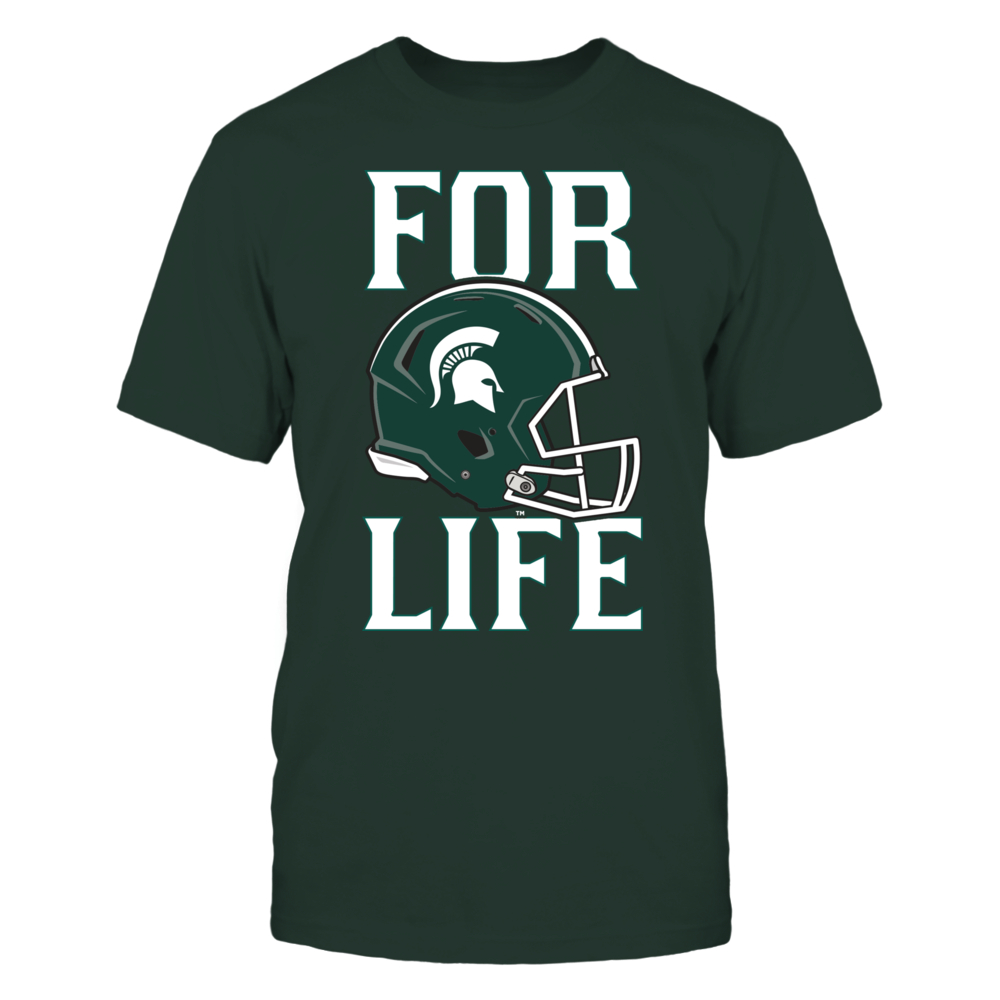 Michigan State For Life! Front picture