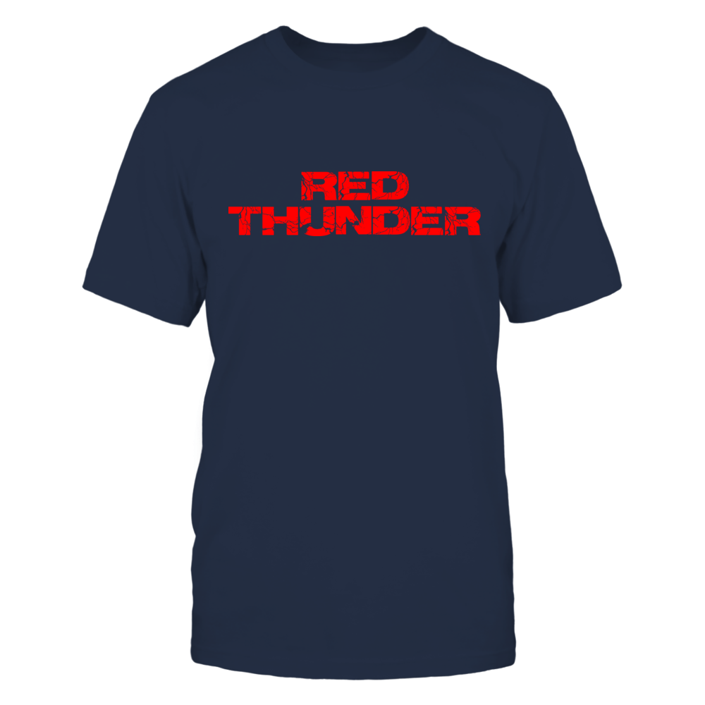TShirt Hoodie Red Thunder Baseball Outfielder Trending Electric Graphic Design FanPrint