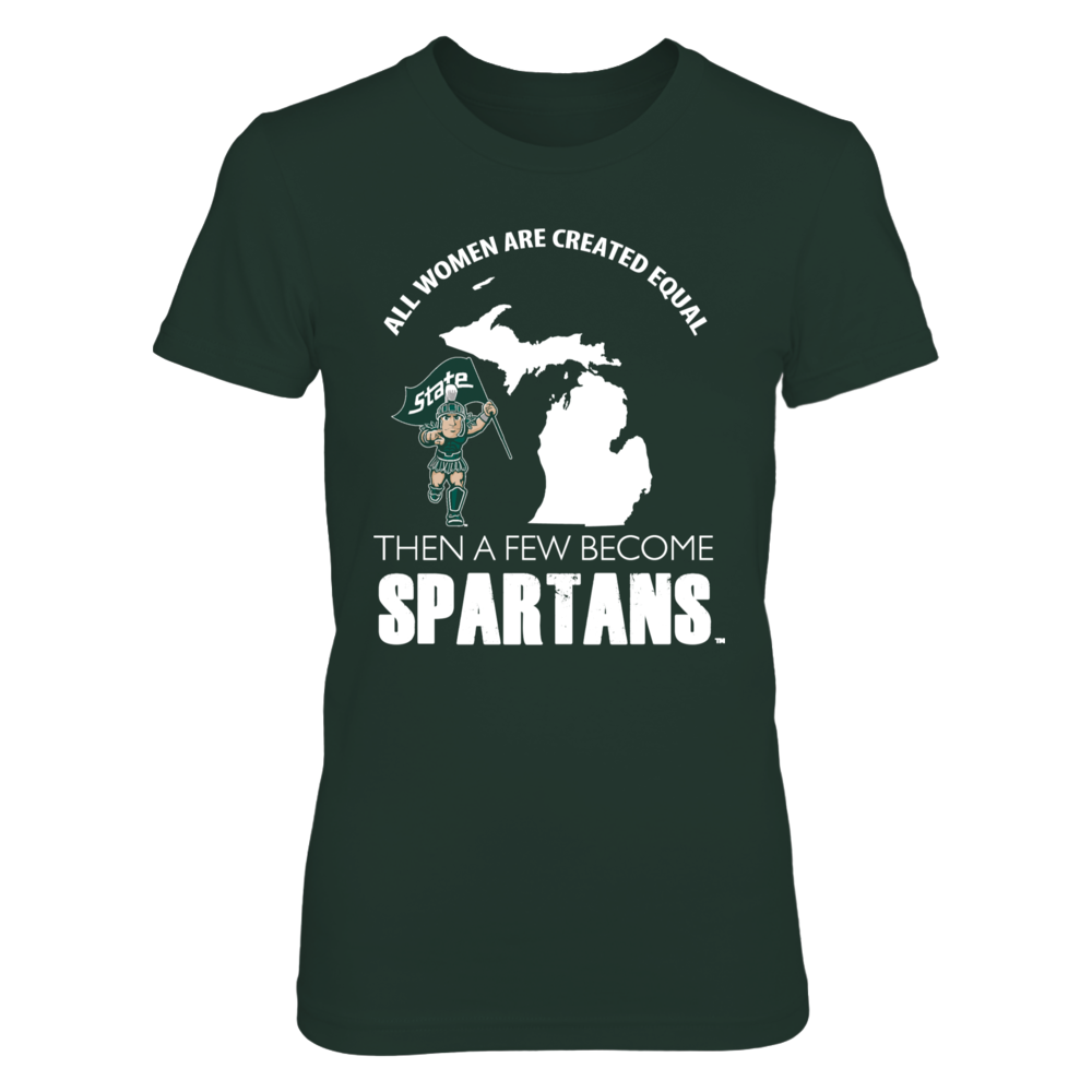 Michigan State Spartans A Few Become Spartans FanPrint