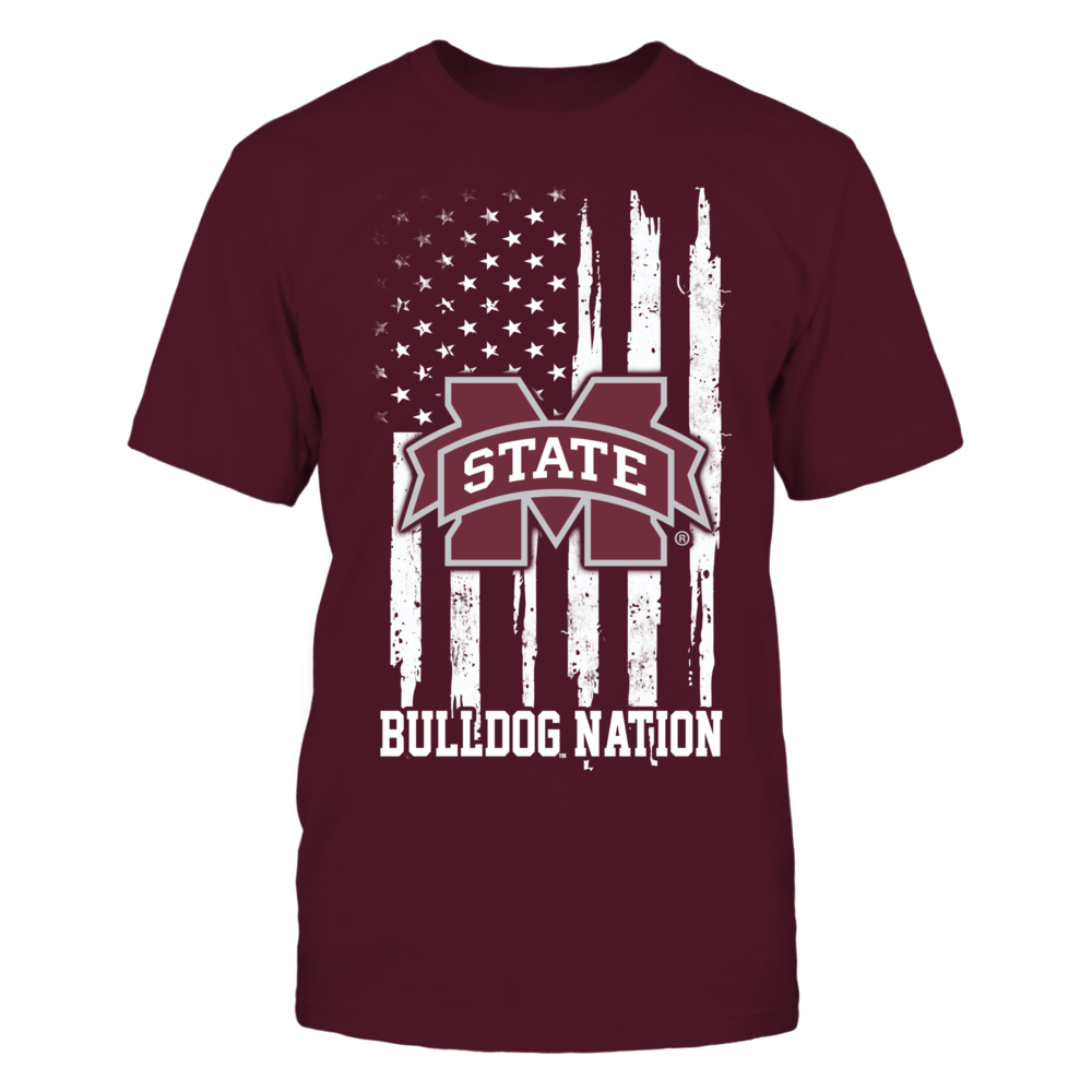 Mississippi State Bulldogs - Nation Flag Front picture
