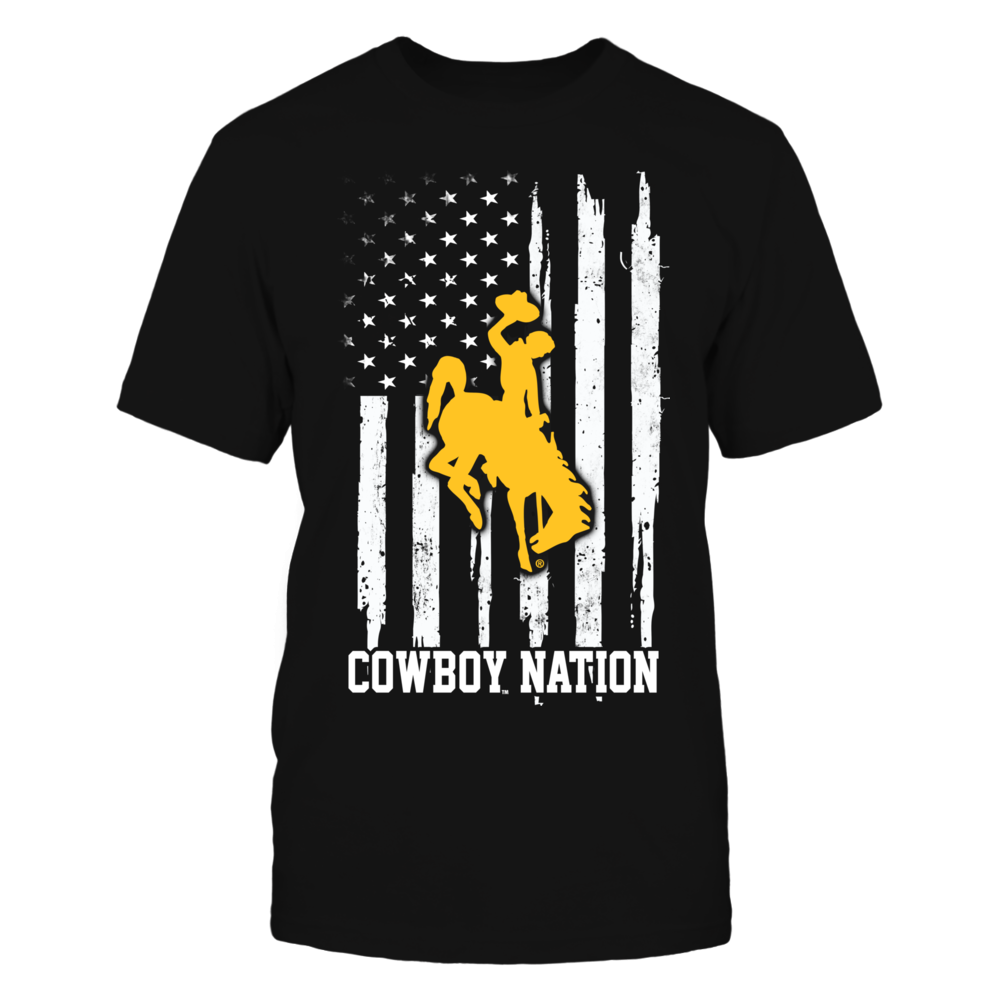 Wyoming Cowboys - Nation Flag Front picture