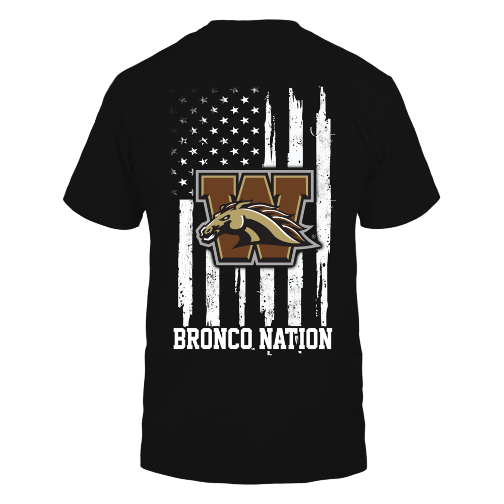 Western Michigan Broncos - Nation Flag Back picture