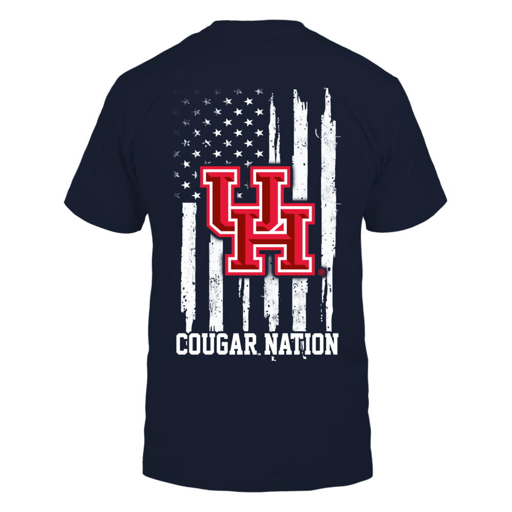 Houston Cougars - Nation Flag Back picture