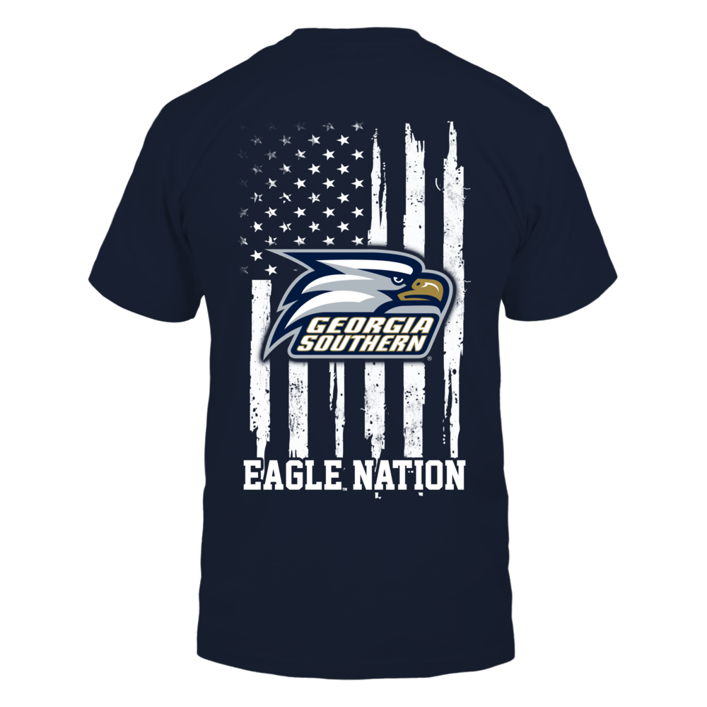 Georgia Southern Eagles - Nation Flag Back picture