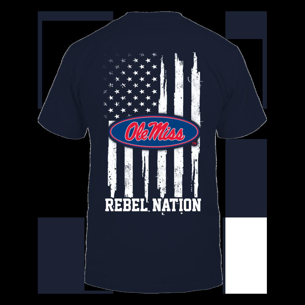 Ole Miss Rebels - Nation Flag Back picture