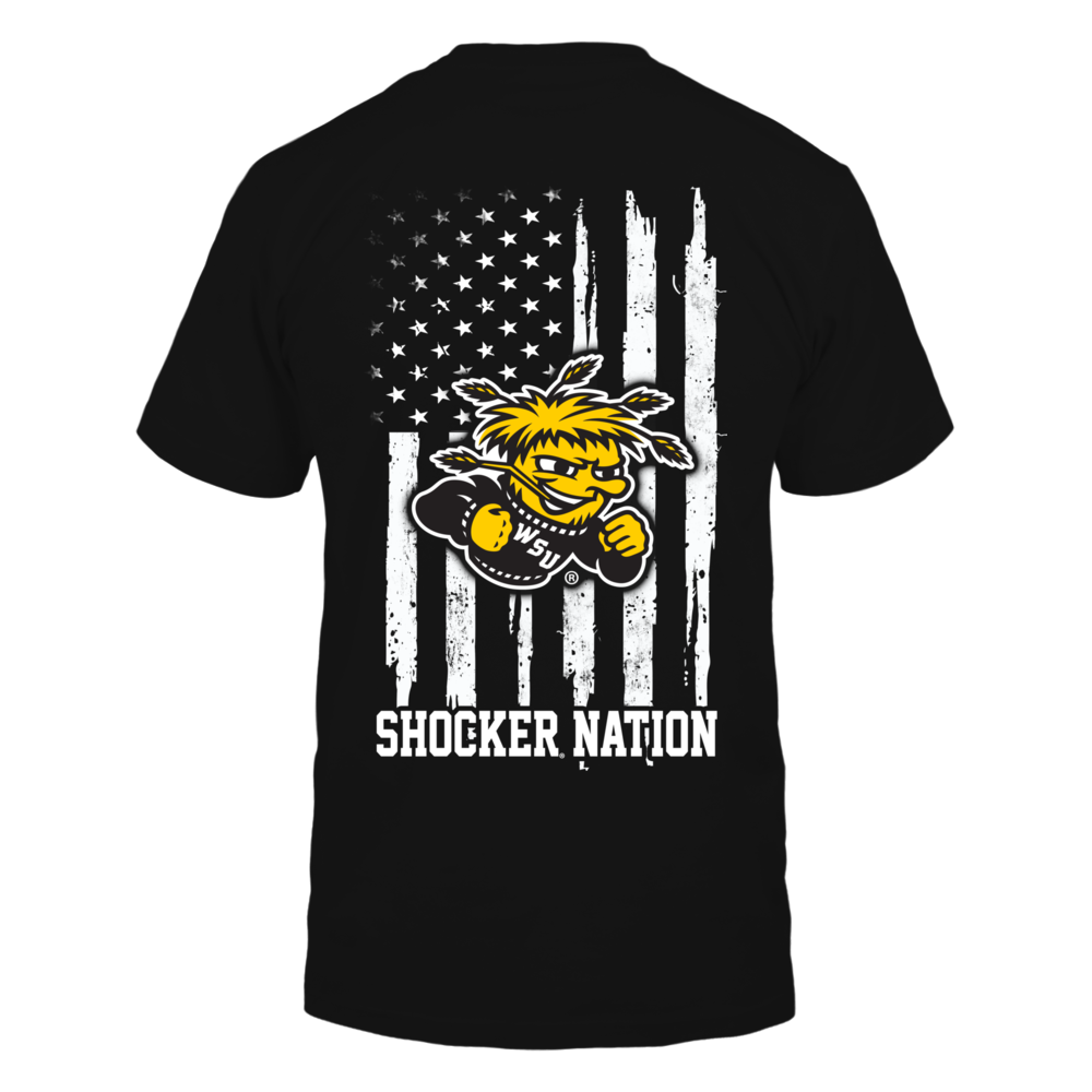 Wichita State Shockers - Nation Flag Back picture