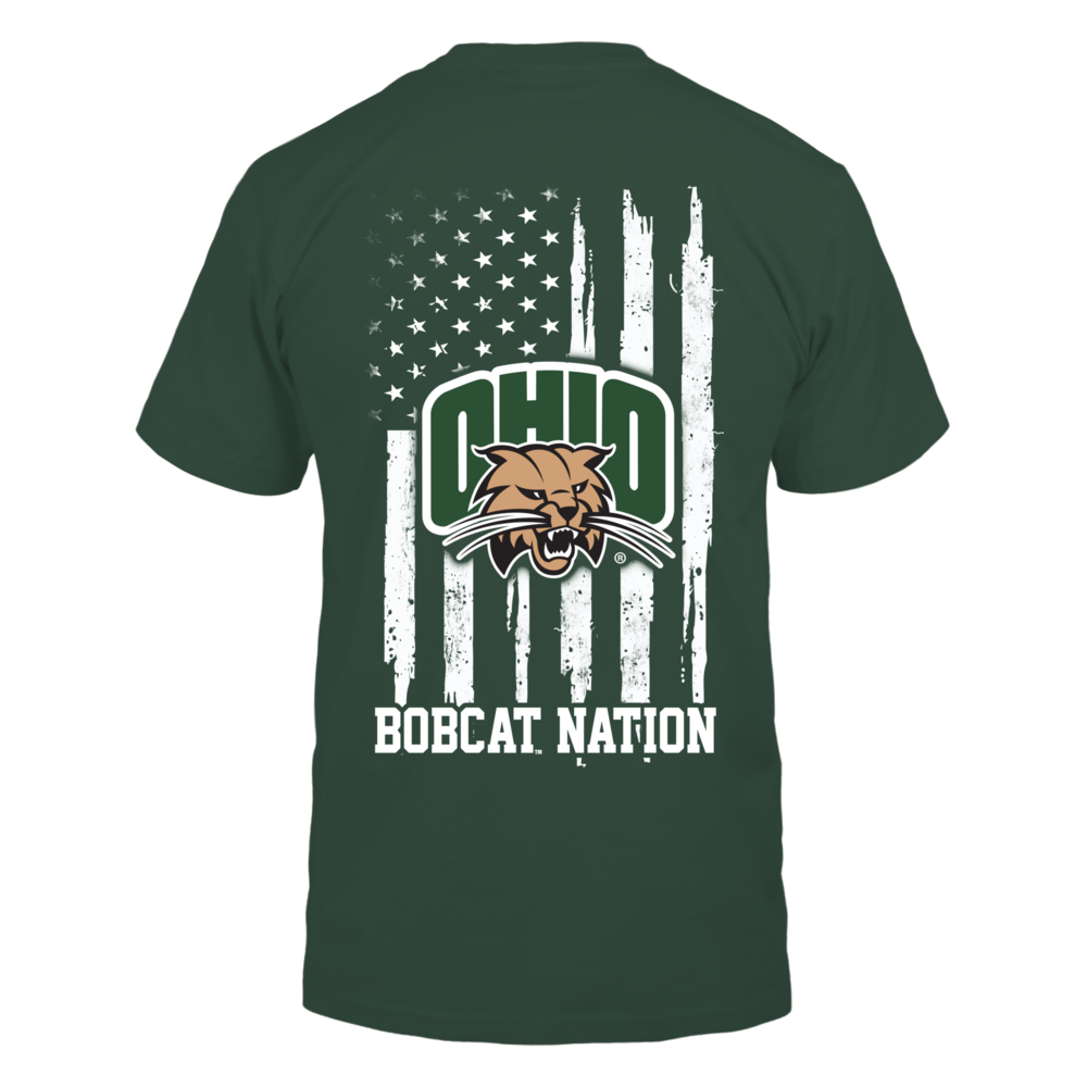 Ohio Bobcats - Nation Flag Back picture