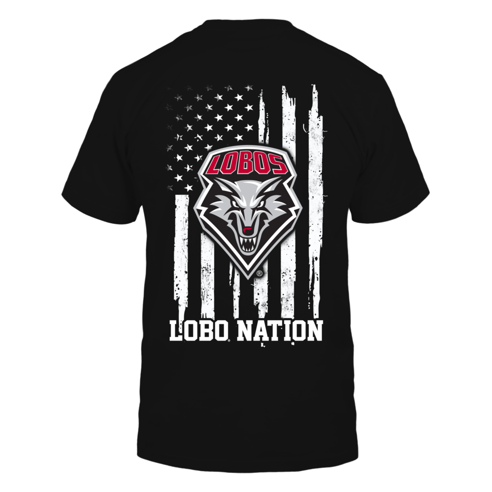New Mexico Lobos - Nation Flag Back picture