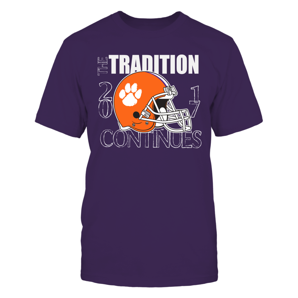 Clemson Tiger Football - The Tradition Continues Front picture