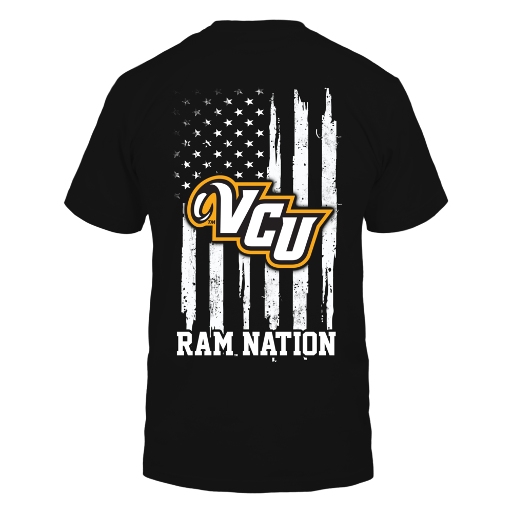 VCU Rams - Nation Flag Back picture