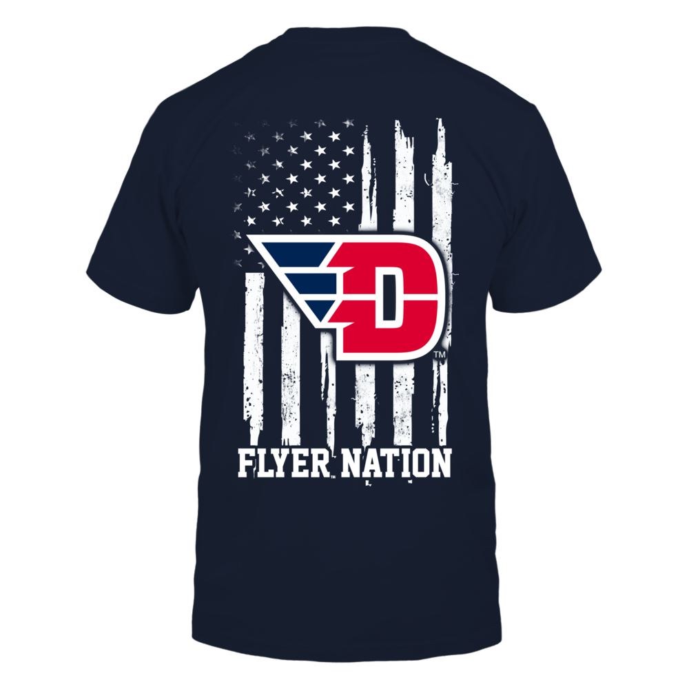 Dayton Flyers - Nation Flag Back picture