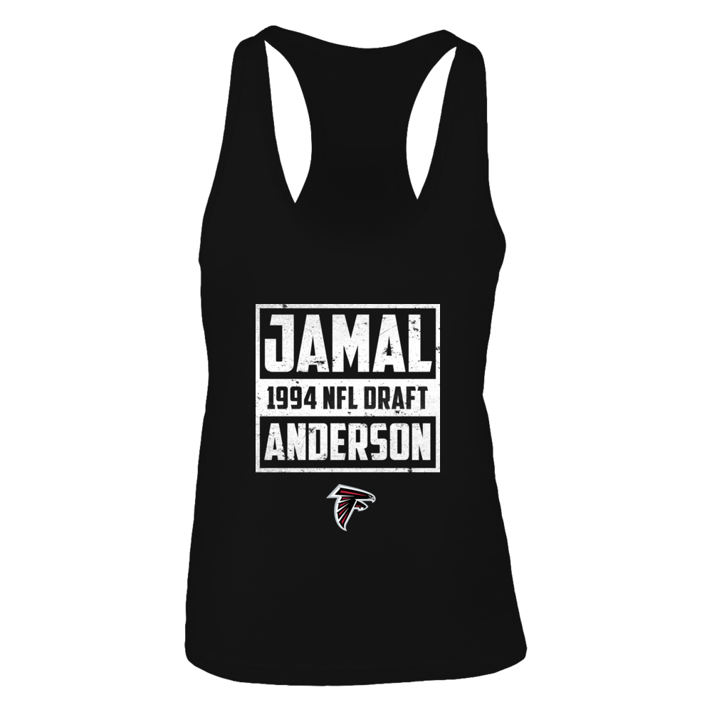 Jamal Anderson 1994 NFL Draft Front picture
