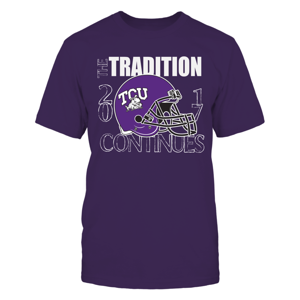 TCU Frogs Football - The tradition Continues 2017 Front picture
