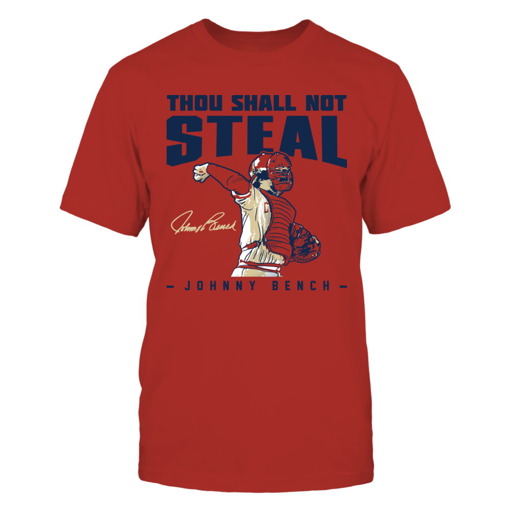 Johnny Bench Johnny Bench - Thou Shall Not Steal FanPrint