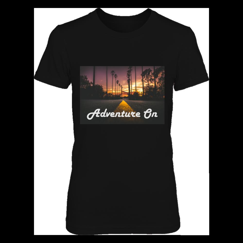 TShirt Hoodie Adventure On- Sunset Roadtrip FanPrint